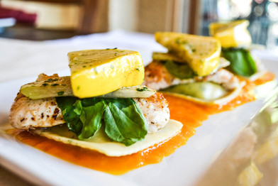 Seafood Special at Mutu's Italian Kitchen in Durango, Colorado