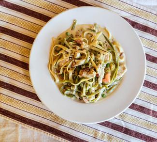 Pasta Special at Mutu's Italian Kitchen in Durango, Colorado