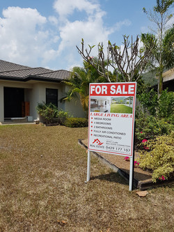 Canopys Edge Real Estate Sign Cairns Signs