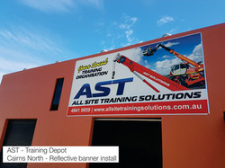 AST Banner Cairns Signs