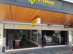 Peter Pans Adventure Travel Shop Signs Cairns Cairns Signs