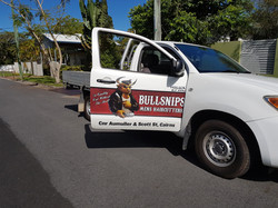 Bullsnips Car Signs Cairns Signs