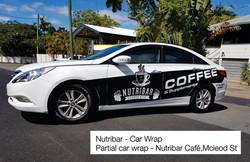 Nutribar Car Wrap Cairns Signs