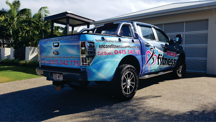 Cairns Signs Vehicle Wrap