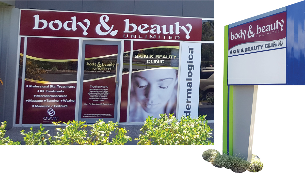 Cairns Signs Body & Beauty