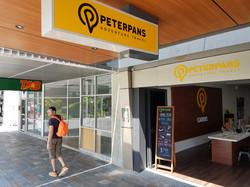 Peter Pans Adventure Travel Lightbox Cairns Cairns Signs