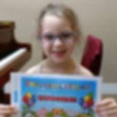 Sloane just graduated into the Preschool