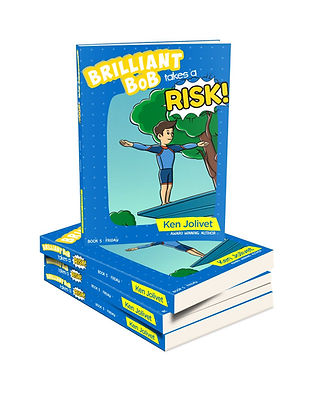 Book 5 Brillian Bob Takes a Risk 3D Cove