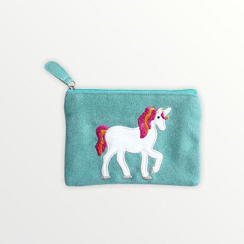 Felt Unicorn Purse