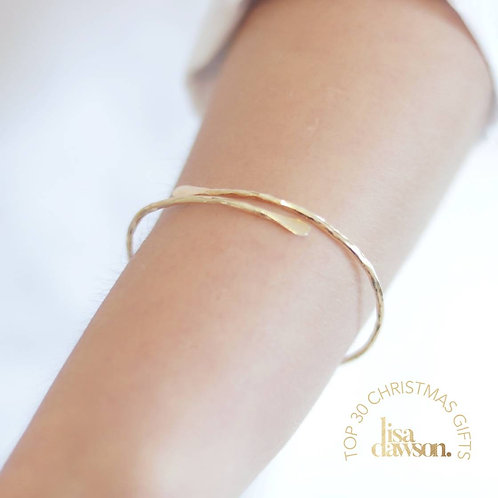 Meadow Plated Bangle