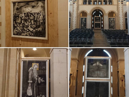 The Naivety Drawings at Portsmouth Cathedral