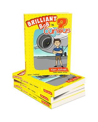 Book 4 Brilliant Bob is Curious 3D Cover