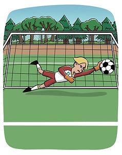 Superboy Sam Football