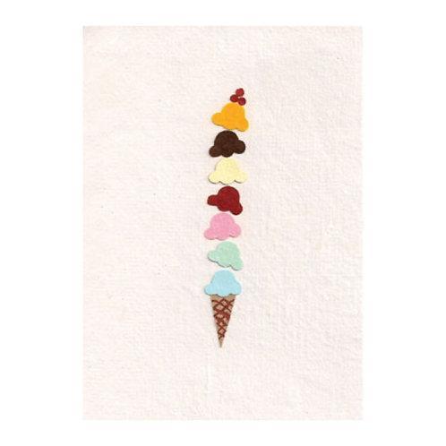 Yummy Ice Cream | Greetings Card