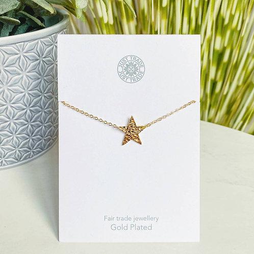22ct Gold Plated Star Bracelet