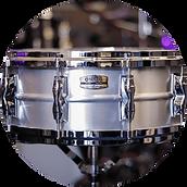 Yamaha Recording Custom Aluminium Snare
