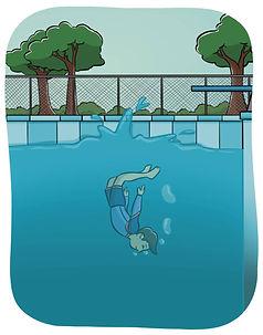 Brilliant Bob Swimming
