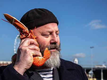 Artist in Residence for Portsmouth Seafood Festival