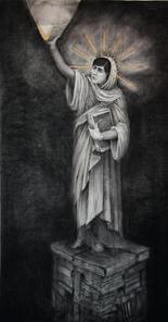 No 11. Malala Yousafzai. Naivety Drawings. Pete Codling