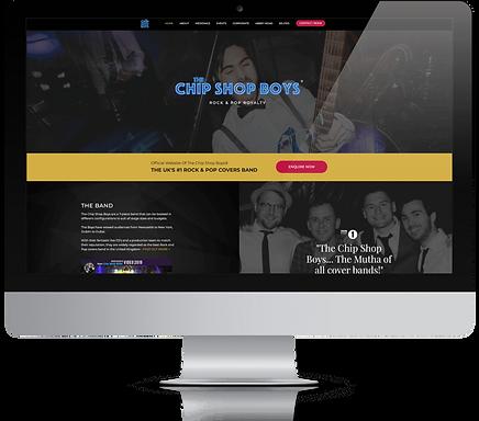 The Chip Shop Boys Website