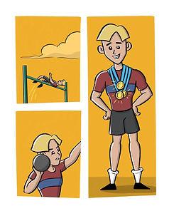 Superboy Sam Medal