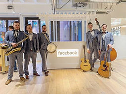 Acoustic Roaming Band Corporate