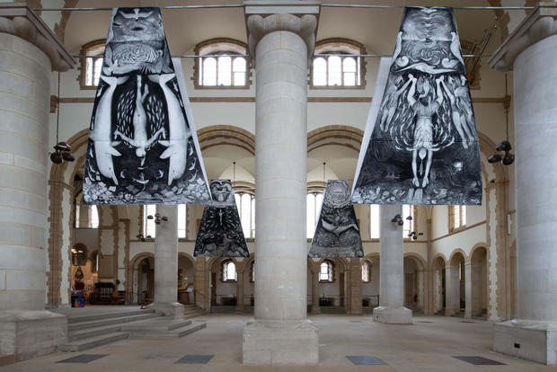 Soup of Souls. Pete Codling. Portsmouth Cathedral of The Sea. 2019