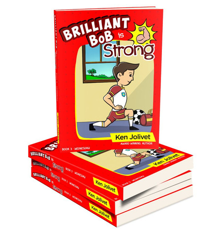Book 3 Brilliant Bob is Strong 3D Cover.