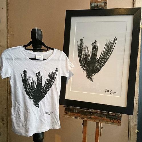 'Falling Crow' T-Shirt