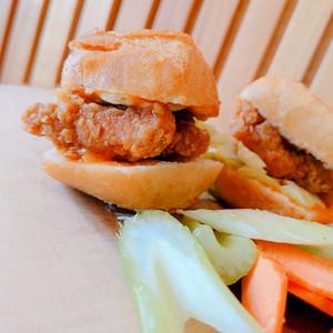 Chicken Burger Bites
