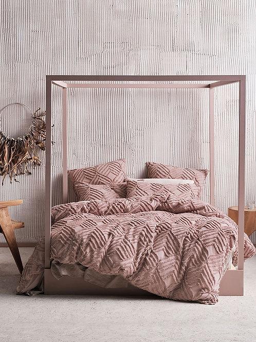 Linen House® Ramona Blush Duvet Cover Set