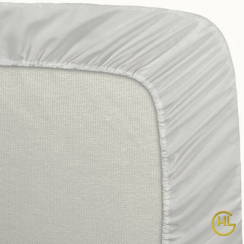 Pure Cotton Percale 300TC Fitted Sheet
