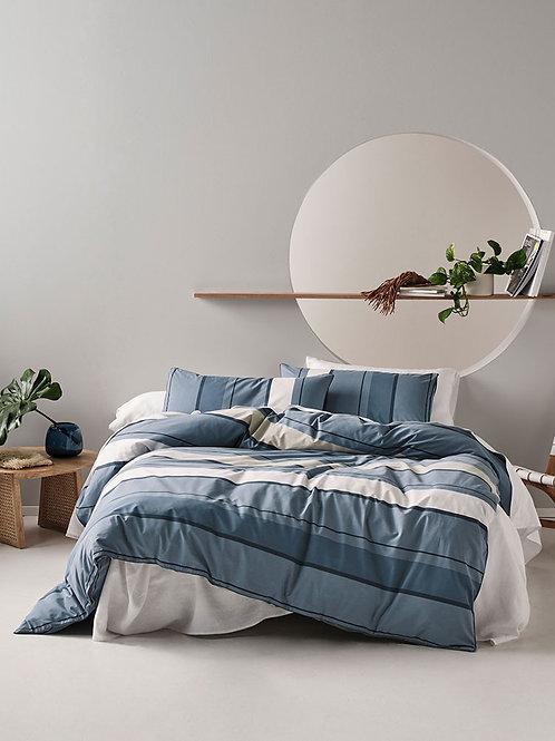 Linen House® Kova Blue Duvet Cover Set