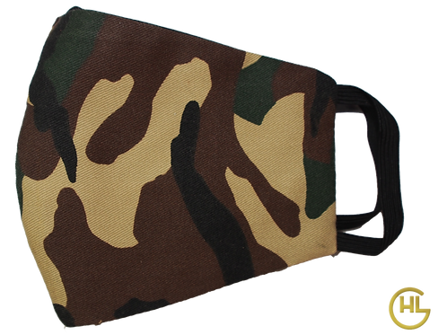 3 Layer Reusable Face Mask Bape Style (with Filter)
