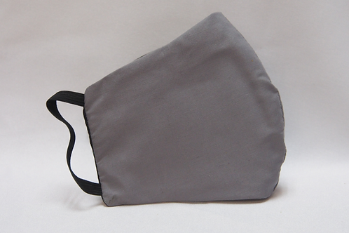 3 Layer Reusable Grey Face Mask (with Filter)