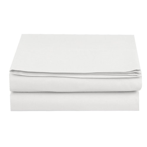 Cotton Rich 144TC Flat Sheet