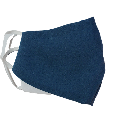3 Layer Reusable Blue Face Mask (with Filter)
