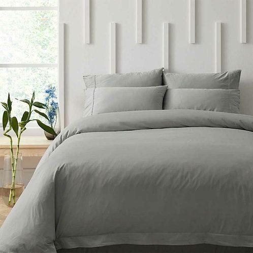 Bamboo Cotton 500TC Duvet Cover Grey