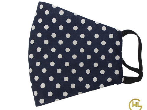 3 Layer Reusable Face Mask Dots (with Filter)