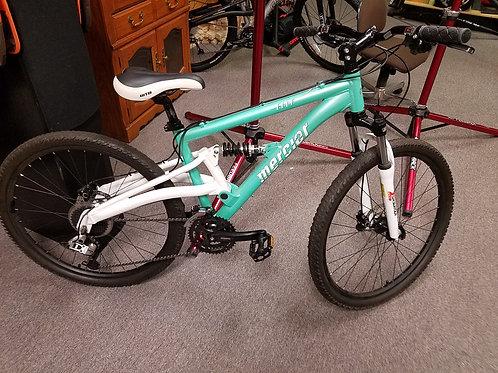 Mercer full suspension mountain bike