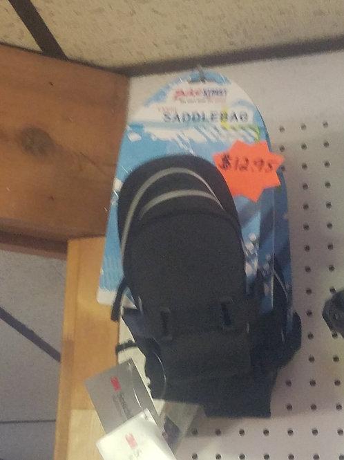 Under the seat bicycle saddle bag
