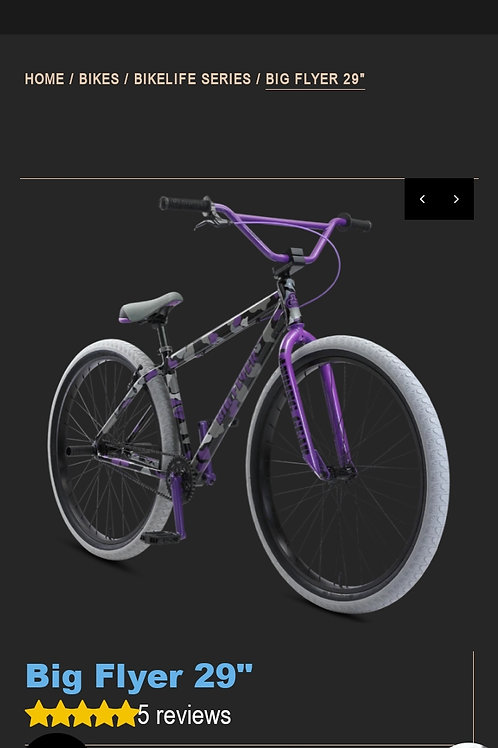 "SE BIG FLYER 29"" purple camo"
