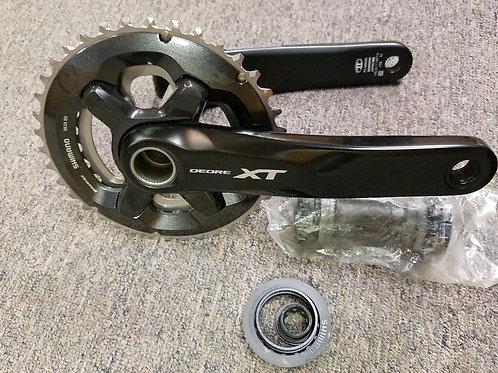 Shimano XT m8000 2x crankset