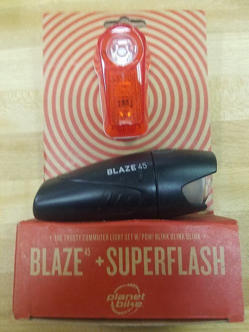 Planet Bike Blaze and super flash lighting