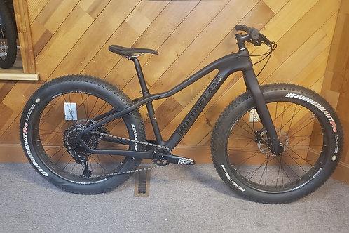 Carbon fiber motobecane fat tire bike