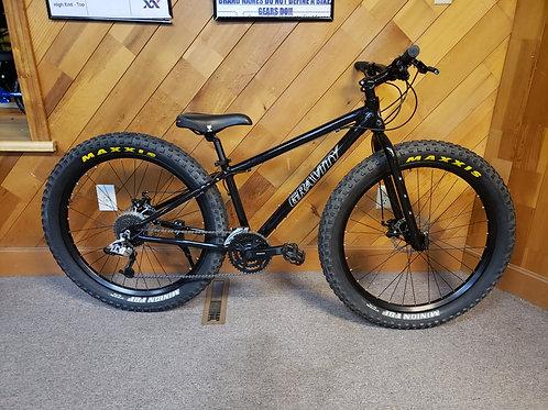 Gravity bullseye fat tire Bike