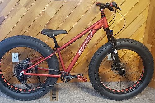 Gravity Fat tire Bike 1x12 bluto
