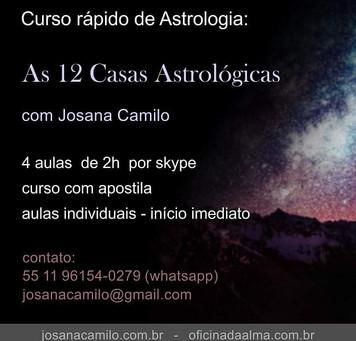 Curso: As 12 Casas Astrológicas