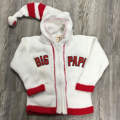 BIG PAPI PERUVIAN BABY SWEATER