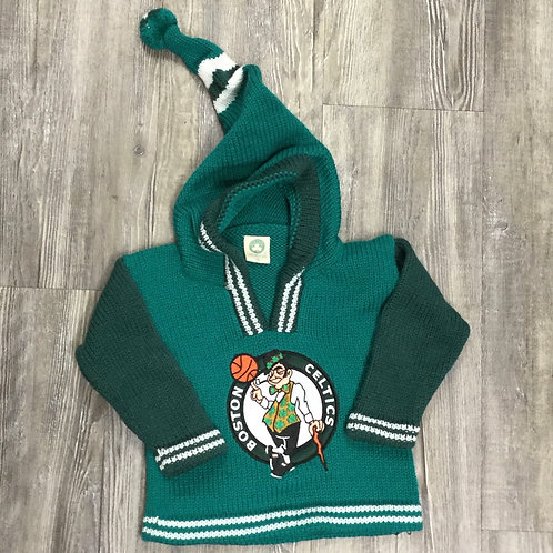 CELTICS PERUVIAN BABY SWEATER